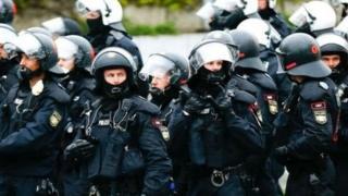полиция в Кельне
