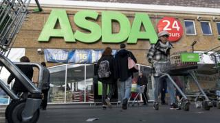 An Asda supermarket in south London