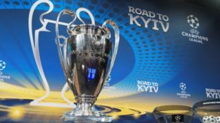 """El trofeo de la Champions, conocido como la """"Orejona""""."""