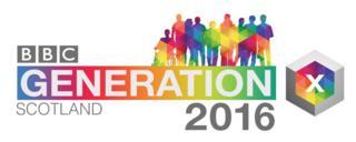 BBC Scotland Generation 2016 logo