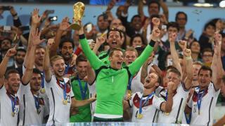 Alemania campeón.