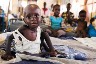 Güney Sudan'da çocuk