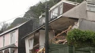 Looe landslide