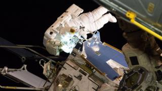 ઇન્ટરનેશનલ સ્પેસ સ્ટેશનની તસવીર