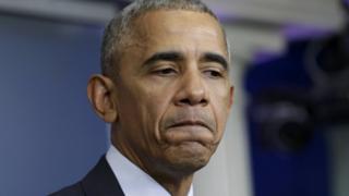 Obama 20 Ocak'ta görevi Trump'a devredecek.