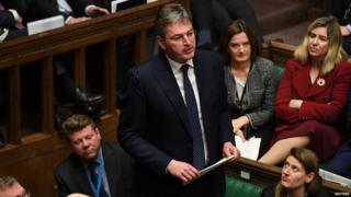 Conservative MP Daniel Kawczynski speaking in the House of Commons