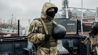 युक्रेनी सैनिक
