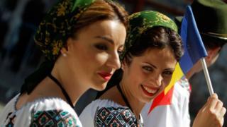 молдавские участницы фестиваля