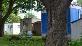 A swing at the trailer park