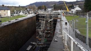 Fort Augustus locks