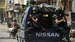 قوات شرطة مصرية
