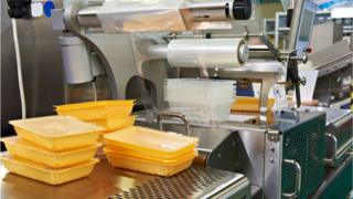 Industrial equipment for food packaging