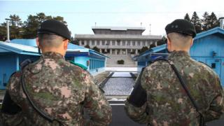 Aldea de la tregua entre ambas Coreas.