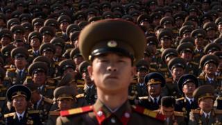 ทหารเกาหลีเหนือ