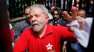 O ex-presidente Luiz Inácio Lula da Silva em maio deste ano