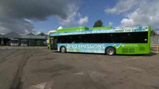 Electric buses: Wales' first to hit the roads in Newport