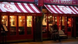 A Cafe Rouge restaurant