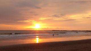 Puesta del Sol en Costa Rica (Foto: Marco Vinicio)