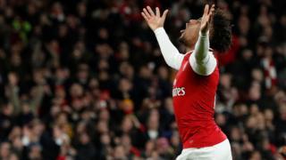 Alex Iwobi na Arsenal