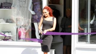 Good nature news Amy Childs opens boutique