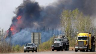 Highway 63 near Fort McMurray