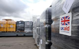 Consignment of UK aid