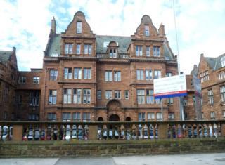 Royal Hospital for Sick Children in Edinburgh