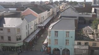 Llanelli Town Centre