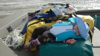 Skyla duerme en el lugar más remoto de Florida. (Foto: cortesía familia Means)