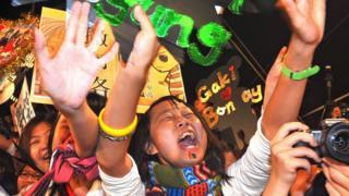台北金马影展对影星粉丝来说也是一次支持偶像的盛会。