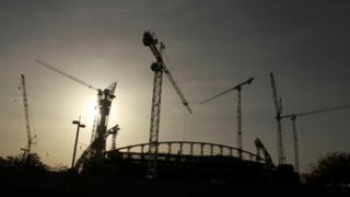 Estádio da Copa em construção