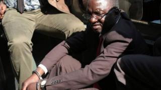 Douglas Mahiya, l'un des ex-compagnons de Robert Mugabe, qui s'opposent aujourd'hui à son régime.