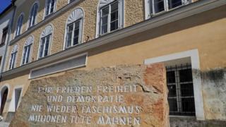 Hitler's birthplace, Braunau, Austria