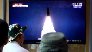 Kuzey Kore'nin attığı füze