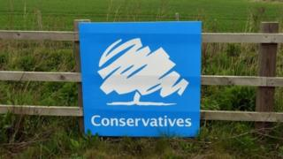 Conservative posters used in the 2015 general election