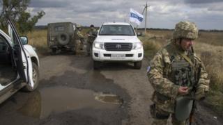 Миссия ОБСЕ зафиксировала высокий уровень обстрелов на Донбассе