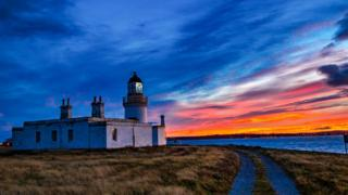Sunrise at Chanonry Point on the Black Isle