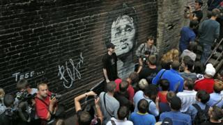 Стена Цоя в Киеве