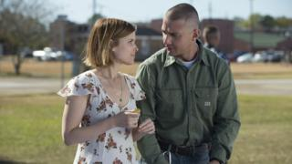 Shia LaBeouf with Kate Mara in Man Down