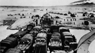 Военную базу Туле в Гренландии США построили в 1950-х