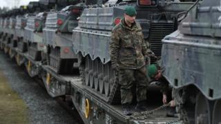 Германские танки в Литве