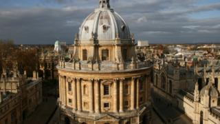 The Radcliffe Camera at the University of Oxford's Bodleian Library