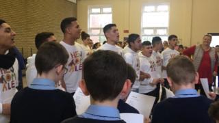 The Čhavorenge Choir