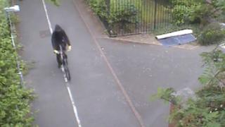 CCTV of shooting suspect