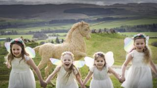 National Unicorn Day photocall