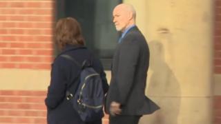 Gary Henderson outside court