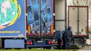 Lorry migrants