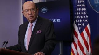 Secretary of Commerce of the United States Wilbur Ross