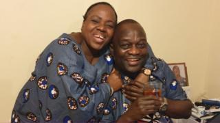 Belly and husband Lusamba