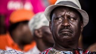 Kinara wa Muungano wa upinzani Kenya Raila Odinga